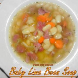 Baby Lima Bean Soup.