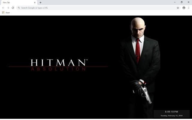 Hitman: Absolution New Tab Theme