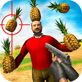 Pineapple Shooting Game 3D