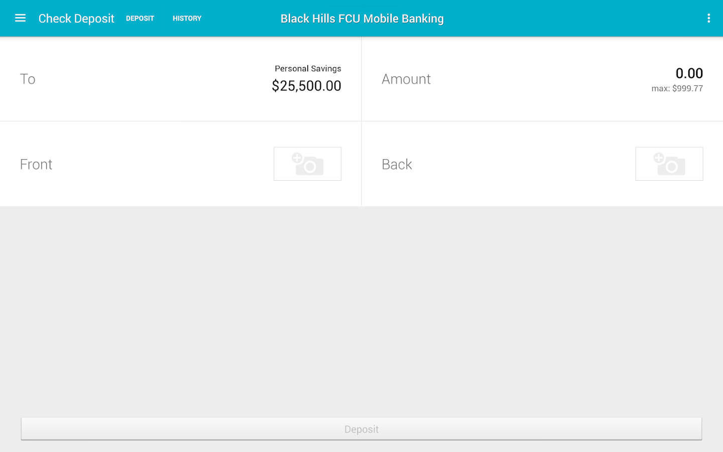 Black Hills FCU- screenshot