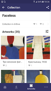 Malevich: artworks and stories- screenshot thumbnail