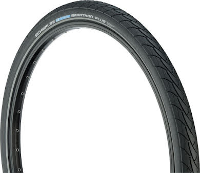 "Schwalbe Marathon Plus Tire 26 x 2.00"" Wire Bead Performance Line Endurance  Compound SmartGuard alternate image 0"