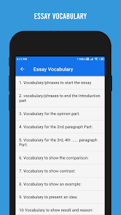 Download IELTS Writing - Academic and General For PC Windows and Mac apk screenshot 7