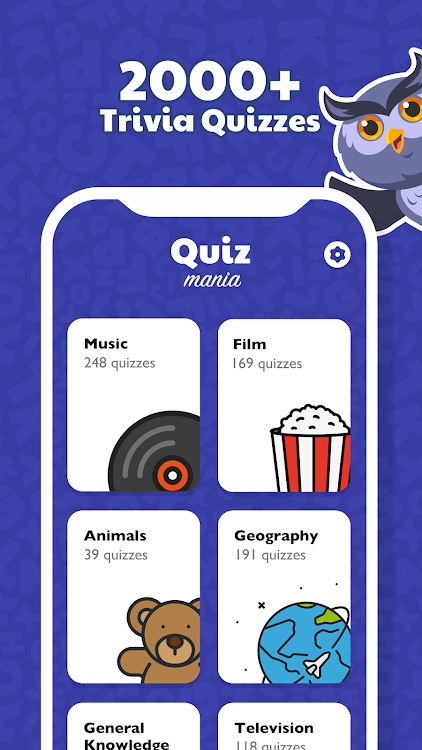 Trivia Quiz Mania - Quiz with Answers – (Android Applications) — AppAgg