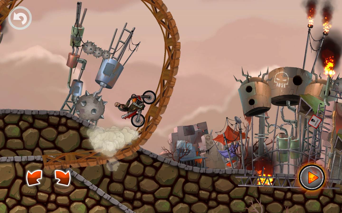 Mad Road: Apocalypse Moto Race- screenshot