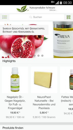 Naturprodukte Schwarz - Shop