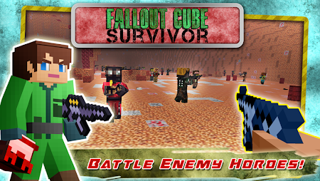 Fall Out Cube Survival C6 screenshot 54353
