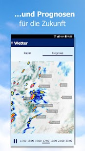 Wetter by t-online.de- screenshot thumbnail
