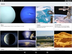NASA screenshot for Android
