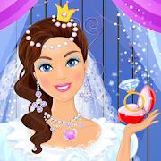 لعبة تلبيس الأميرة للزفاف