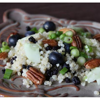 Double Blueberry Quinoa Salad