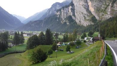 Photo: Aareschlucht kemping