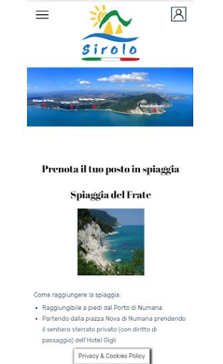 Sirolo Spiagge screenshot 1
