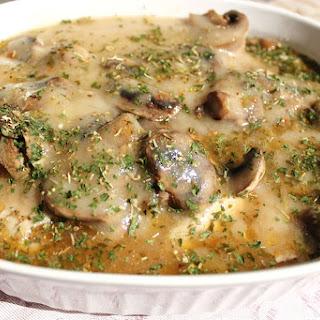 Oven Baked Chicken and Mushroom Casserole