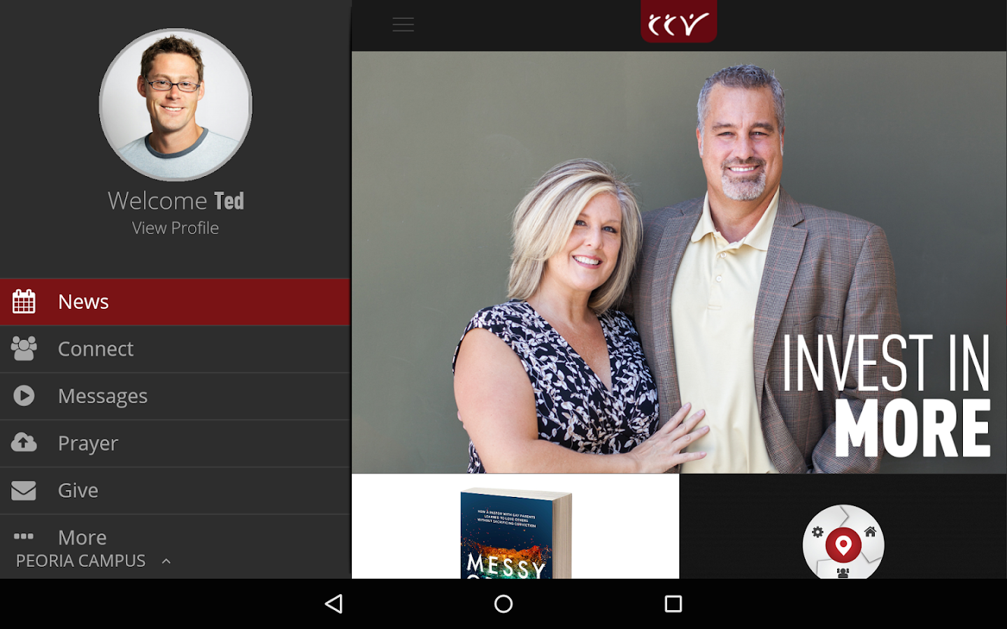 CCV Mobile App- screenshot