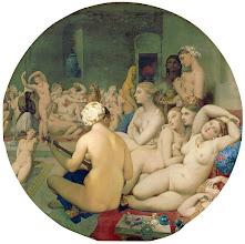 Photo: Jean Auguste Dominique Ingres: Török fürdő