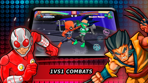 Superheroes Fighting Games Shadow Battle apkpoly screenshots 1