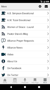 Curwensville Alliance Church- screenshot thumbnail