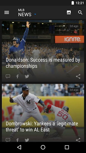 theScore – Sports News & Scores: Football & More Screenshot