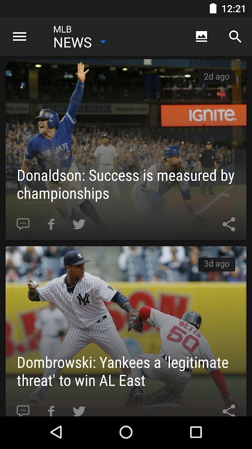 theScore – Sports News & Scores: Football & More- screenshot