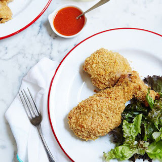 Potato-Chip Fried Chicken