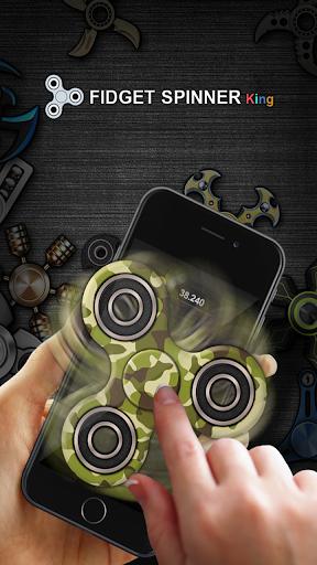 Fidget Spinner King - Stress relief 1.019 screenshots 5