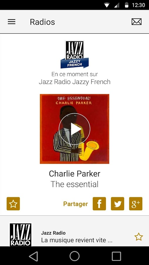 Jazz Radio- screenshot