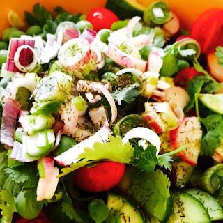 Six Ingredient Salad.