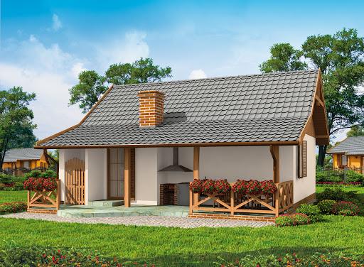 projekt Barbados  Szkielet Drewniany