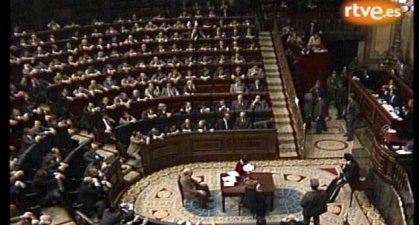 El asalto de Tejero al Congreso el 23-F de 1981
