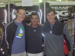 Photo: After IM Brazil 2008 - Chris, Oscar Galindez, Uncle Jorge