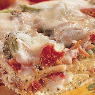 Vegetable Lasagna With Carrots And Broccoli Recipes