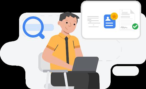 استخدام منتجات Google للحصول على وظيفة جديدة