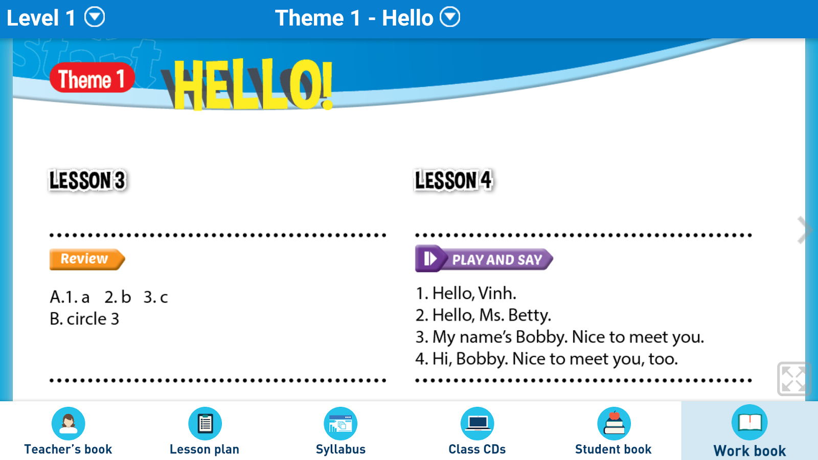 Teacher's Resources for i-Learn Smart Start- screenshot