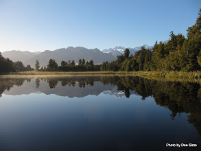 Photo: (Year 2) Day 285  - Mount Tasman and Mount Cook Reflected in Lake Matheson #3