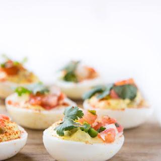 Southwestern Deviled Eggs.