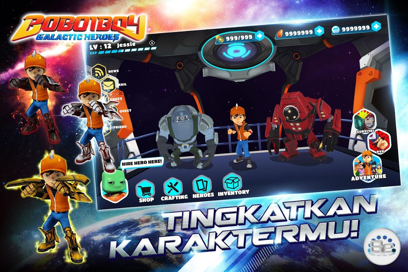BoBoiBoy Galactic Heroes RPG Apl Android Di Google Play
