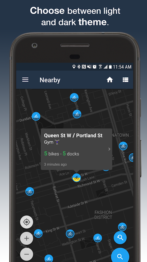 Cycle Now: Bike Share Trip Planner- screenshot