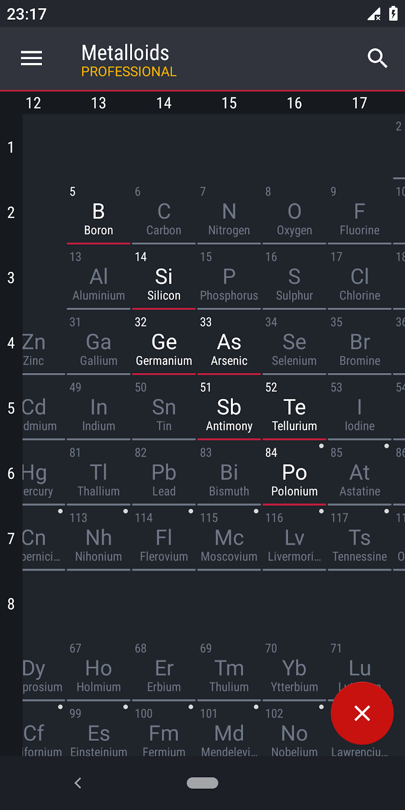 Periodic Table 2019 PRO - Chemistry Screenshot 7