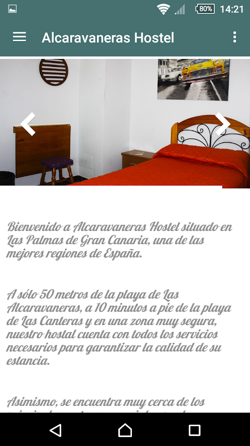 Alcaravaneras Hostel- screenshot