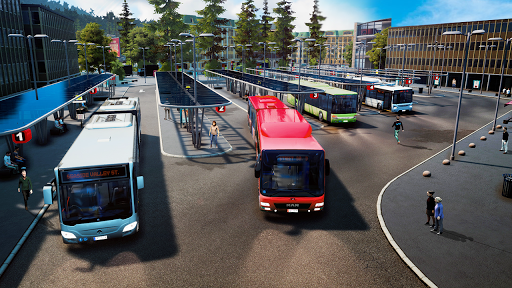 Public Coach Bus Driving Sim : New Bus Games 2020  screenshots 1