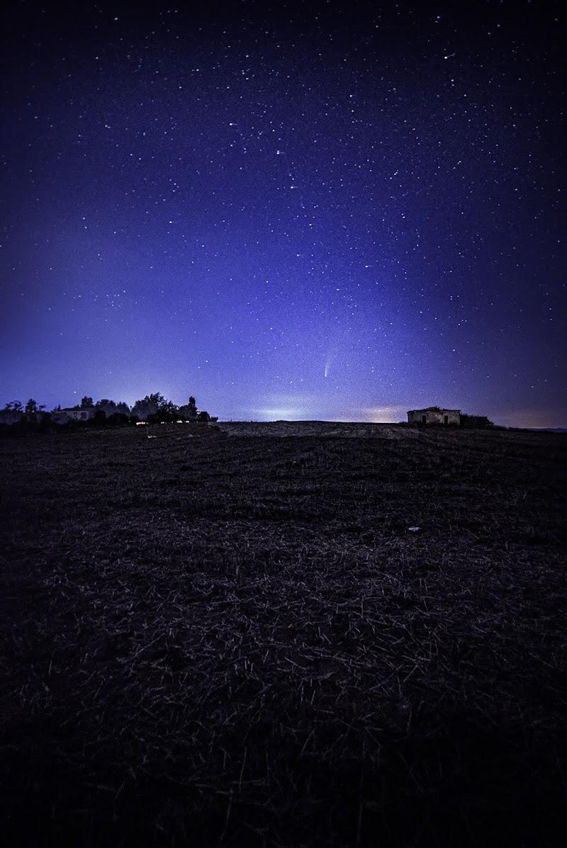 cometa newoise  di giovanni_messina