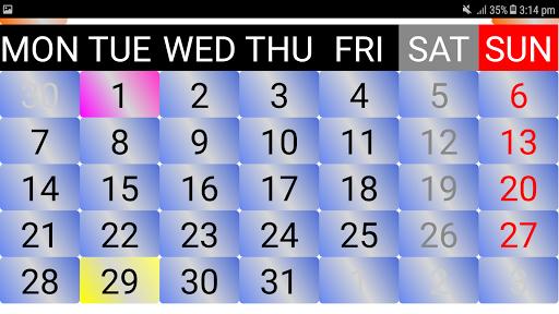 2020 Sinhala Calendar screenshots 1