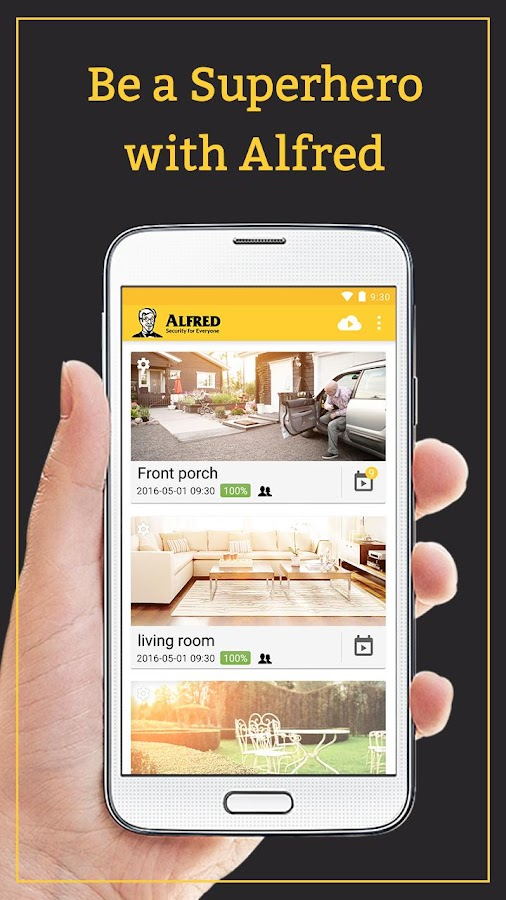 Alfred Home Security Camera - Android Apps On Google Play