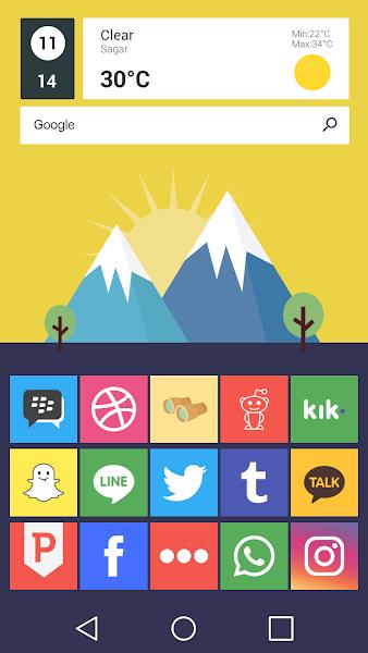 Flatout Minimal IconPack Theme v4.0.9