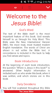 The Jesus Bible - náhled