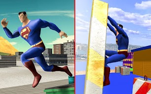 Superheroes Parkour simulator 3D screenshot for Android