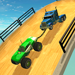 Double Impossible Mega Ramp 3D 2.2