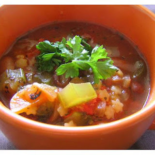 Pasta Vegetable Soup.