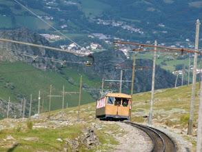 Photo: Larun, il trenino a scartamento ridotto, ultima corsa del giorno.